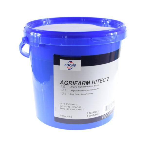 ole165 smar agrifarm hitec2 1 600x600 - Smar litowy Agrifarm Hitec 2 Fuchs - 5 kg