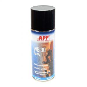 Odrdzewiacz z dwusiarczkiem molibdenu MoS2 APP WB 30 Spray 400 ml