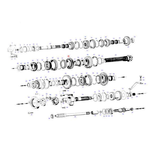 FCG198100080010 katalog 600x600 - Koło zębate skrzynia biegów Fendt G198100080010 Oryginał