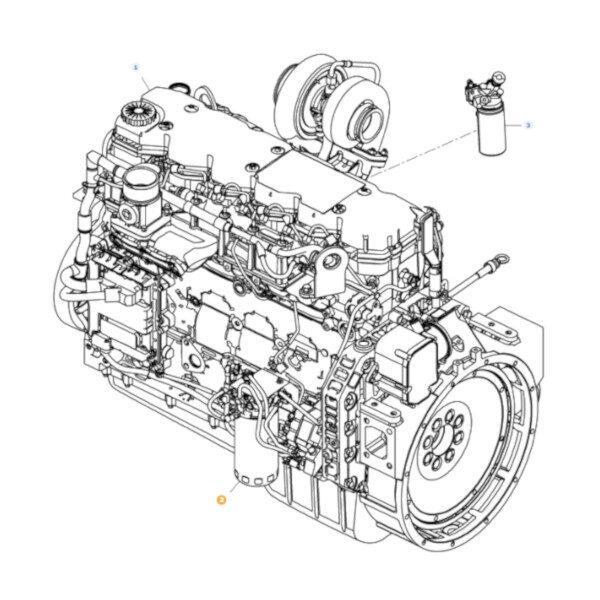 mfLA323017850 katalog 600x600 - Filtr oleju silnika puszkowy Massey Ferguson LA323017850 Oryginał