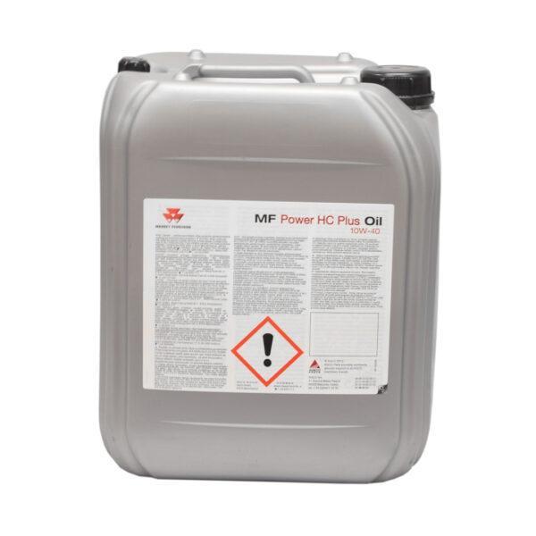mf power HC PLUS  OIL 10W 4 zdj2 600x600 - Olej hydrauliczno-przekładniowy Massey Ferguson Power HC Plus 10W40 - 20L