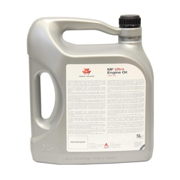 mf ultra engine oil 10W40 5litr 03 600x600 - Olej silnikowy Massey Ferguson Ultra Engine Oil 10W40 – 5L