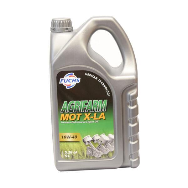 motXL A zdj1 600x600 - Olej silnikowy Fuchs Agrifarm MOT X-LA SAE 10W40 - 5L