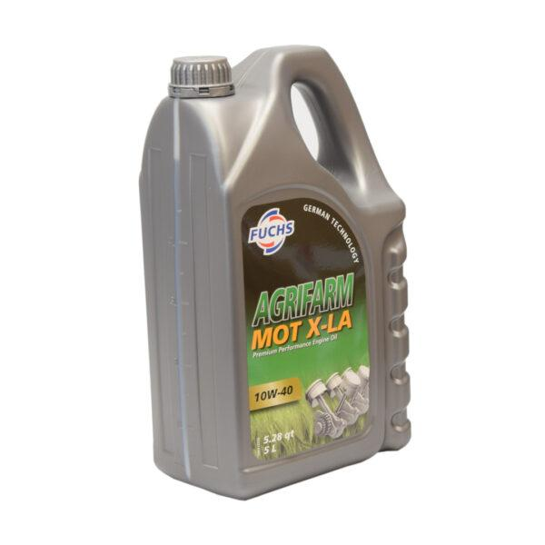 motXL A zdj2 600x600 - Olej silnikowy Fuchs Agrifarm MOT X-LA SAE 10W40 - 5L