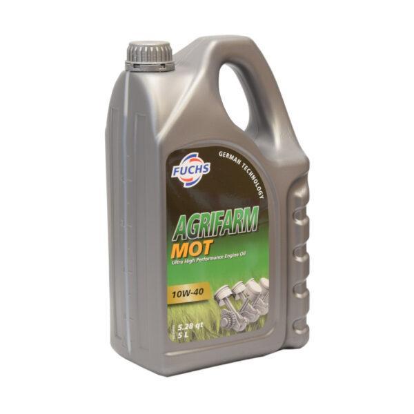 mot zdj2 600x600 - Olej silnikowy Fuchs Agrifarm MOT SAE 10W40 - 5L
