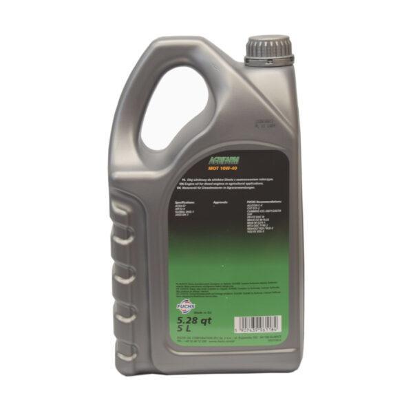 mot zdj3 — kopia 600x600 - Olej silnikowy Fuchs Agrifarm MOT SAE 10W40 - 5L