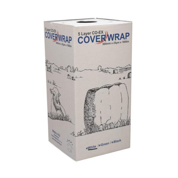 500 1 600x600 - Folia do sianokiszonki CoverWrap 500mm Biała
