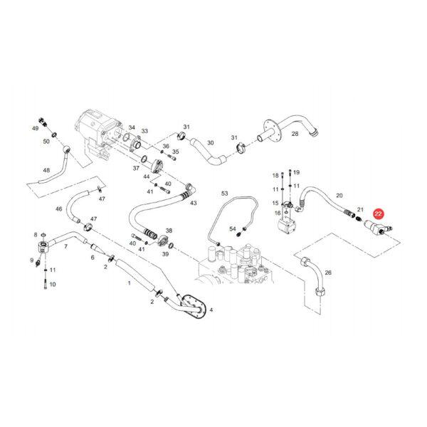 F916951010030 czujnik cisnienia katalog 600x600 - Czujnik ciśnienia hydrauliki Fendt F916951010030 oryginał