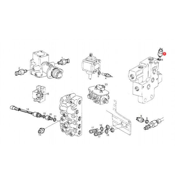 H816900020010 przel cisn katalog 600x601 - Czujnik ciśnienia oleju hydraulicznego Fendt H816900020010 oryginał