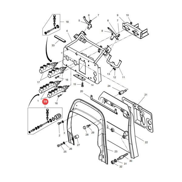 1810833M91 zestaw naprawczy pompki hamulcowej katalog 600x601 - Zestaw naprawczy pompki hamulcowej 1810833M91- Bepco