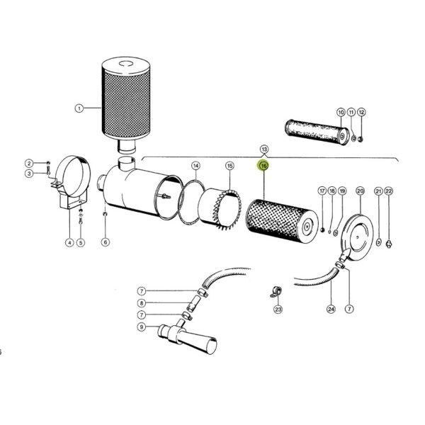 677434 filtr powietrza wklad katalog 600x600 - Filtr powietrza zewnętrzny JAG 0006774341
