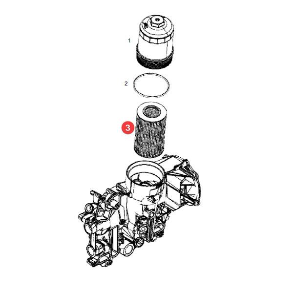 HNE470HD28 katalog - Filtr oleju silnika E470HD28 Hengst