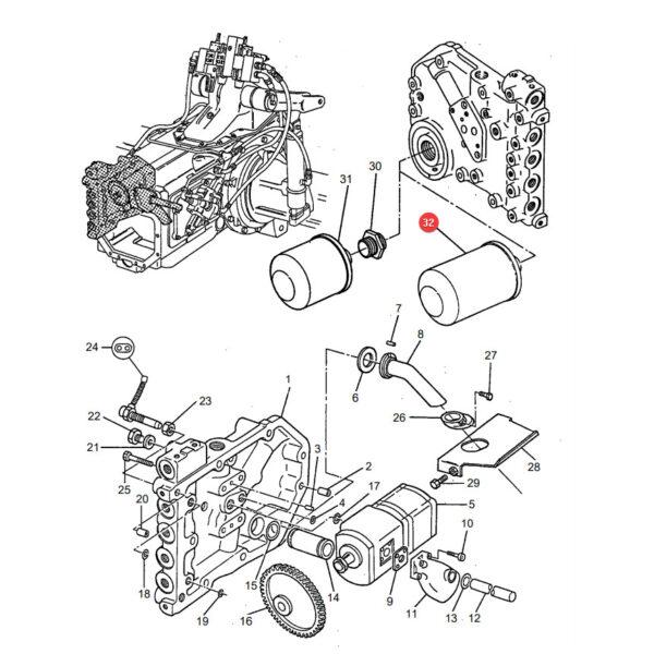 SPH9300 filtr oleju hydrauliki katalog 600x600 - Filtr oleju hydrauliki SF Filtr SPH9300