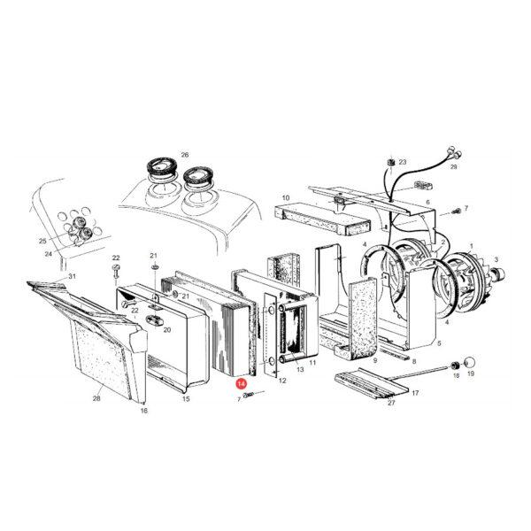 filtr kaibny panelowy SKL46287 katalog 600x600 - Filtr powietrza kabiny SKL2545 SF Filtr