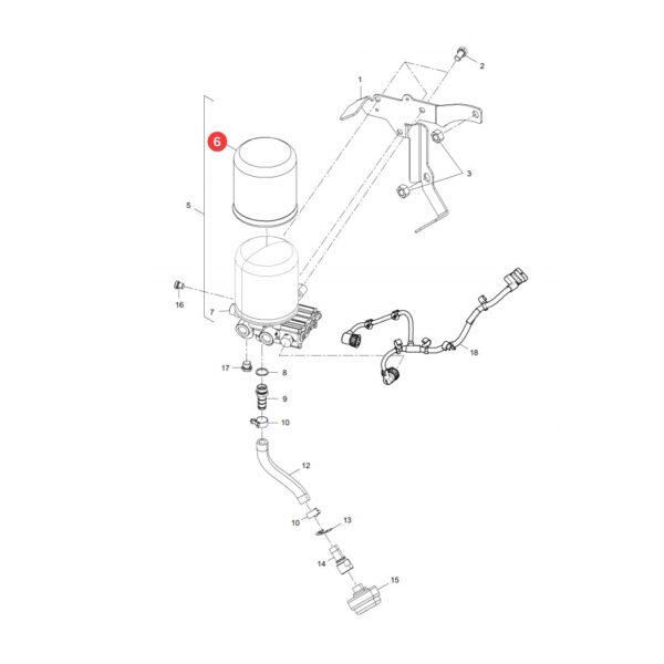 filtr osuszacz TB1374X katalog 600x600 - Filtr osuszacz Pneumatyka TB1374X Mann Filter