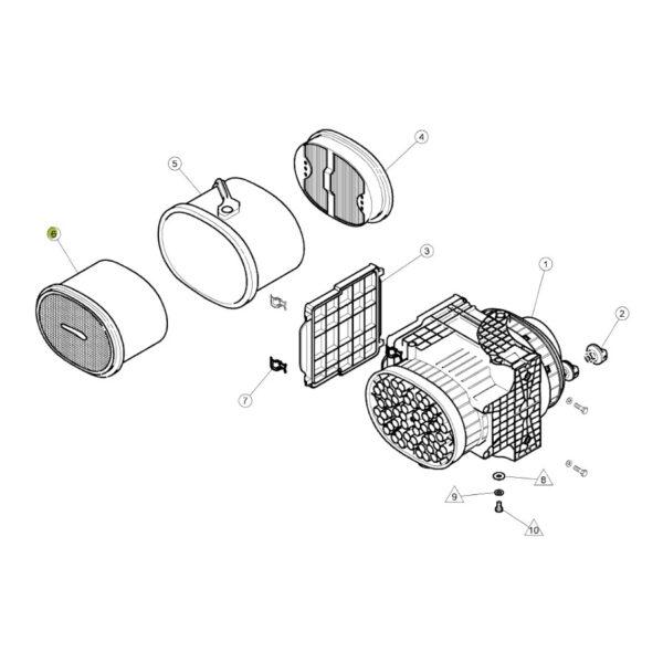filtr powietrza zewnetrzny CP29550 katalo 600x600 - Filtr powietrza silnika Claas CP29550 Mann Filter