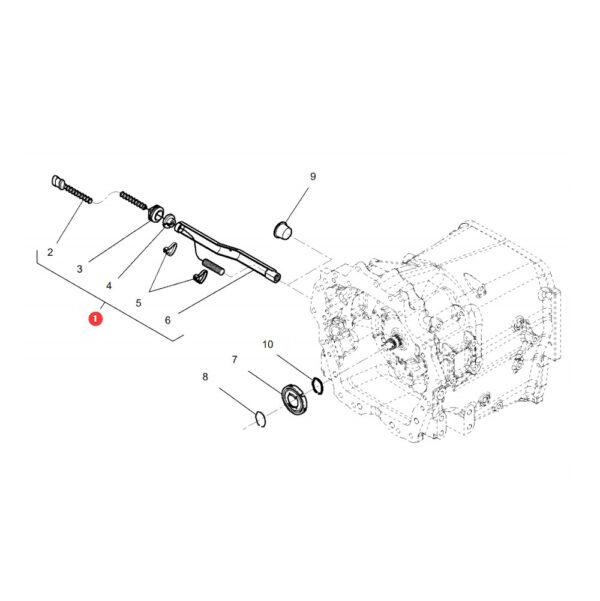 4308785M13 czujnik predkosci katalog 600x601 - Czujnik prędkości, Power Boost Massey Ferguson 4308785M13 oryginał