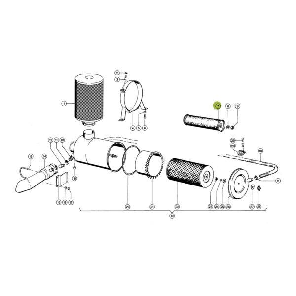 CF1300 filtr powietrza wewnetrzny katalog 600x600 - Filtr powietrza Mann Filter CF1300