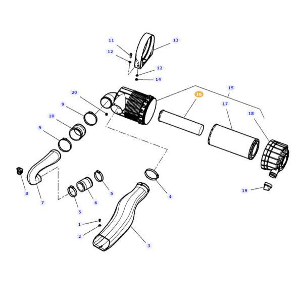 DOP775302 katalog 600x600 - Filtr powietrza wewnętrzny P775302 Donaldson