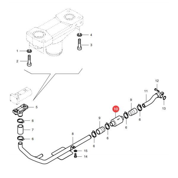 Filtr hydrauliki Donaldson P175143 Katalog