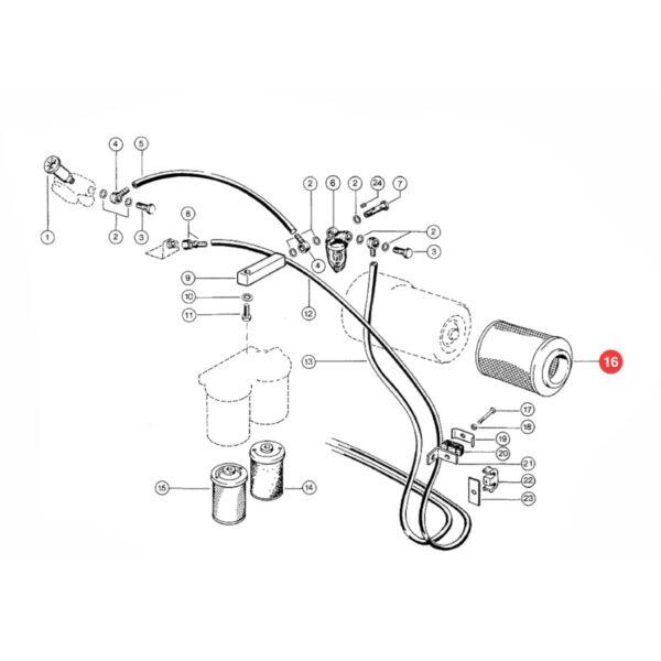 Filtr oleju silnika Hengst E251HD11 Katalog