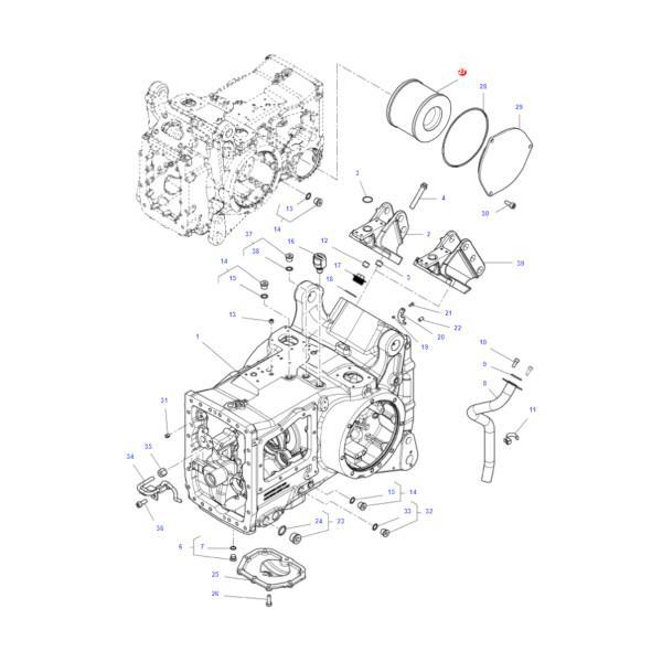 Filtr oleju hydrauliki SF HY90311 Katalog