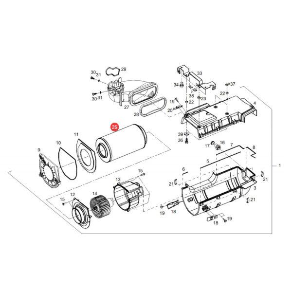 Filtr kabiny Hifi Filter SC50141 Katalog