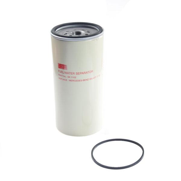 SK3102 filtr paliwa z separatorem wody 600x600 - Filtr paliwa z separatorem wody SF SK3102