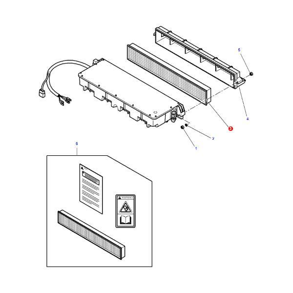 Filtr kabiny panelowy SF SKL2588 Katalog