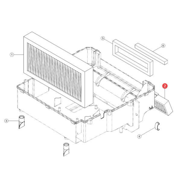 Filtr kabiny panelowy SF SKL46273 Katalog