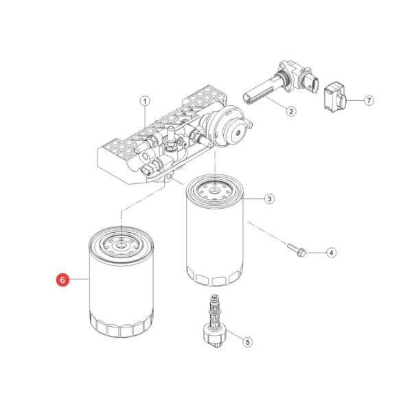 Filtr paliwa Mann Filter WK1149 Katalog