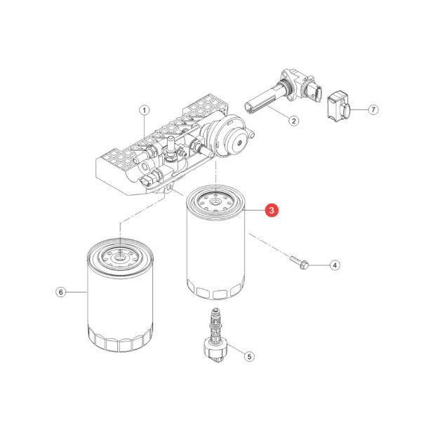 Filtr paliwa Mann Filter WK950/19 Katalog
