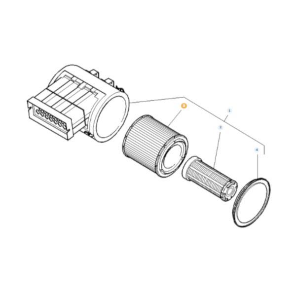 Filtr powietrza zewnętrzny Donaldson P783726 Katalog